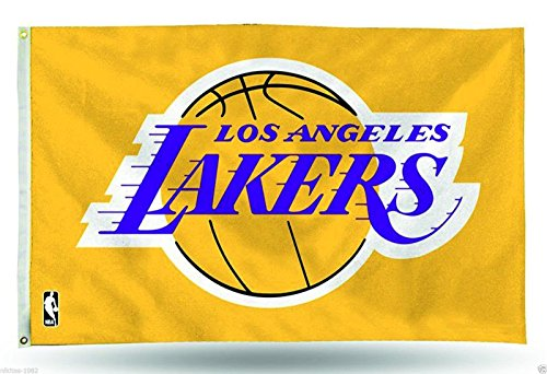 Los Angeles Lakers basketball team Flag Banner NBA Basketball all sizes zz (Lakers Cheerleading Outfit)