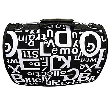 Zcl Multiple Letters Alphabets Pattern Carrier Bag With Straps For Pets Dogs (Assorted Colors, Sizes) , Black , S