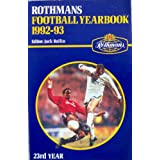 Rothman's Football Year Book 1992-93by Jack Rollin
