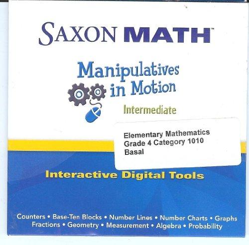 SAXON MATH Manipulatives in Motion Intermediate