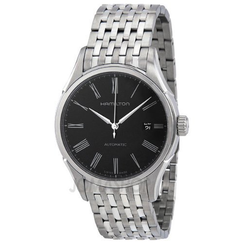 HAMILTON VALIANT H39515134 GENTS STEEL BRACELET STAINLESS STEEL CASE DATE WATCH