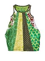 Desigual Vestido Mubert R (Verde)