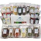 Harmony House Foods Deluxe Sampler (32 Count, ZIP Pouches) for Cooking, Camping, Emergency Supply, and More (Tamaño: Single)