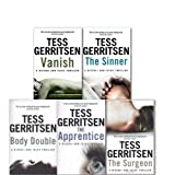A Rizzoli and Isles Series Collection 5 Books Set By Tess Gerritsen (Vanish, Body Double, The Sinner, The Surgeon and The Apprentice)