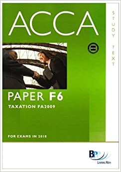 Acca f6 Essay Example - August 2019 - 1611 words