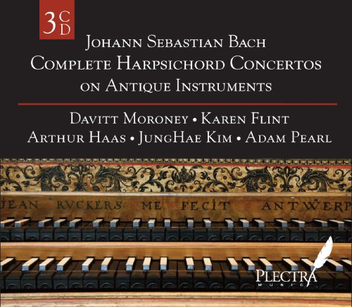 Complete Harpsichord Concertos on Antique Instruments