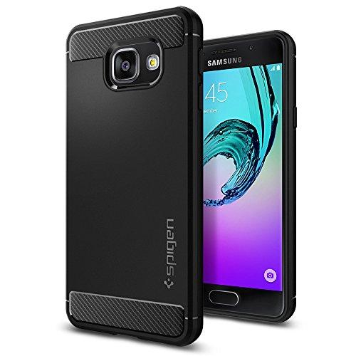 Cover-Galaxy-A3-2016-Spigen-Rugged-Armor-Impressionante-Black-Design-Meccanica-Durevole-Massima-Protezione-Da-Cadute-e-Urti-Custodia-Galaxy-A3-2016-Cover-Samsung-A3-2016-Samsung-Galaxy-A3-2016-564CS20