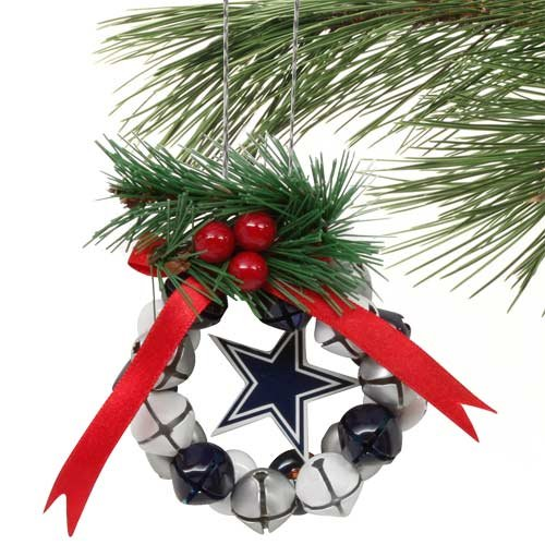 Dallas Cowboys Bell Wreath Ornament at Amazon.com