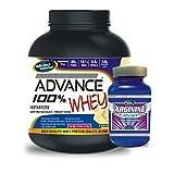 Advance 100% Whey Protein 2kg Vanilla & Advance Arginine 200mg Combo Offers