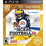 NCAA Football 14 with BONUS Ultimate Team Packs - Playstation 3