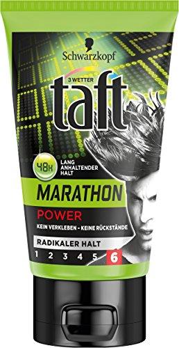 Taft Power Gel Marathon, radicalmente forte presa, 5-pack (5 x 150 ml)