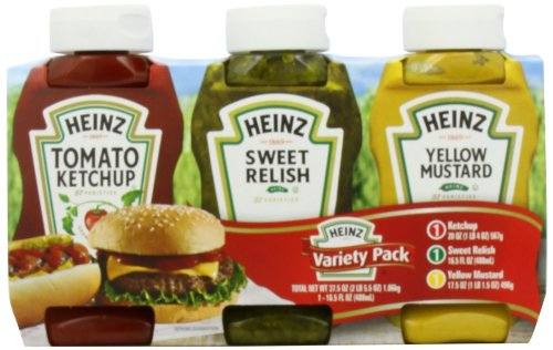 Heinz Picnic Pack 3 Count