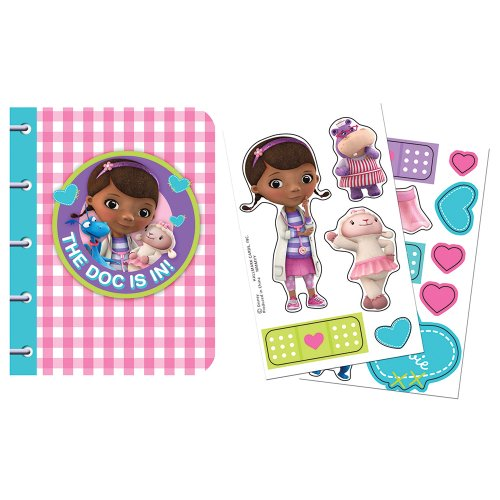 Disney Doc McStuffins Sticker Notebooks - 4 per Pack