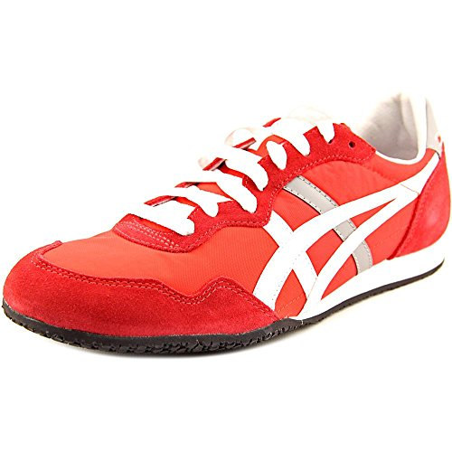 Onitsuka Tiger by Asics Serrano Men US 9.5 Red Sneakers
