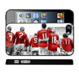 Manchester United Legends Man Utd Giggs Cantona Scholes MUFC Art iPhone Cover Case - iCaseCreatives (iPhone 5 or 5S)