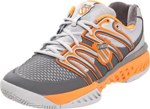 K-Swiss Bigshot, Herren Sport & Outdoor Scarpe, Arancione (Orange (Silver/Charcoal)), 40