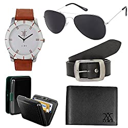 lime offers of aviator sunglasses with watch wallet cardholder and belt