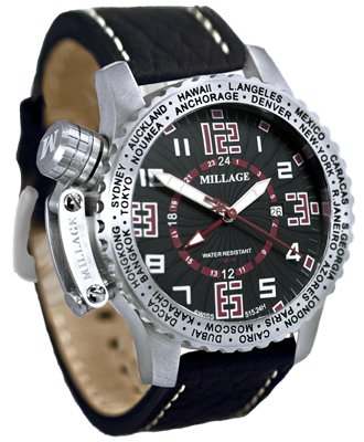 Millage Moscow Collection - BLK-RD-BLK-LB