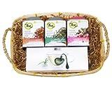 The TeaSpot Tea Lover's Gourmet Gift Basket with AdHoc Steeping Heart