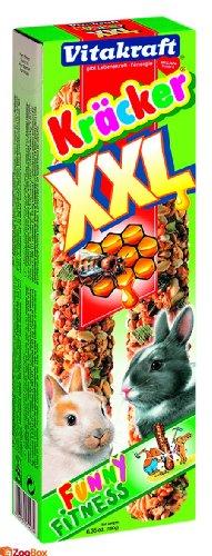 Vitakraft Kräcker XXL mit Honig für Zwergkaninchen