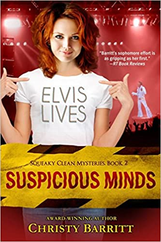 Suspicious Minds (Squeaky Clean Series, Book 2) (Squeaky Clean Mysteries)
