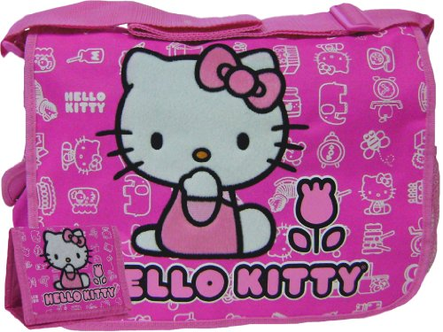 Casual Hello Kitty Pink Messenger Bag & Wallet