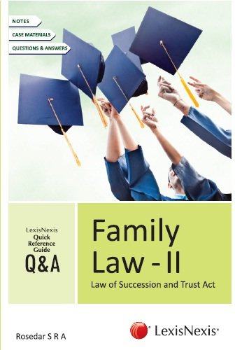 Quick Reference Guide - Q&A Series Family Law - II: Q&A Series Family Law 2