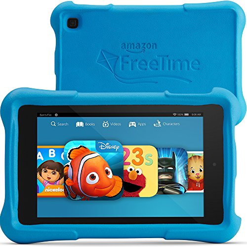 "Fire HD 7 Kids Edition Tablet, 7"" HD Display, Wi-Fi, 8 GB, B"