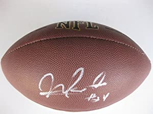 Morris Claiborne, Dallas Cowboys, LSU Tigers, Signed, Autographed, Nfl Football, the... by Wilson