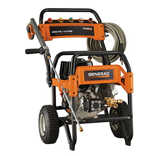 Generac 6565 4,200 PSI, 4.0 GPM, Gas Powered Commercial Pressure Washer (Honda Commercial Pressure Washer compare prices)