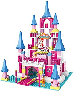 Ztrend Wonderland Deluxe Princess Castle Geared Motion Building Block Toy Set by Worldtrade Promotion-Ztrend
