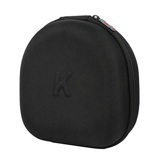 Khanka Hard Case Travel Storage Bag for HyperX Cloud I II Gaming Headset Headphones - Black