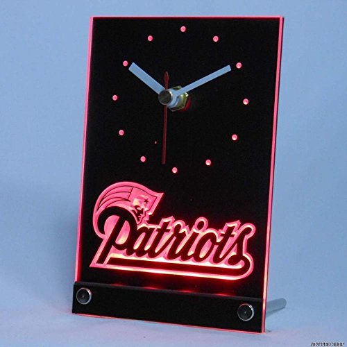 New England Patriots Alarm Clock Patriots Alarm Clock