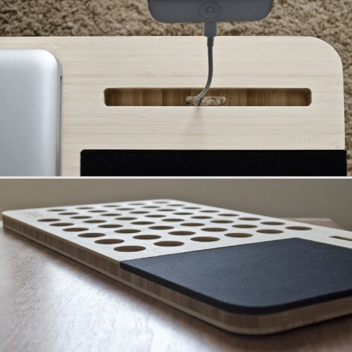 wood lap table mobile lapdesk the essential lap desk