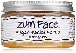 Indigo Wild Zum Sugar Facial Scrub, Lemongrass, 5 Ounce