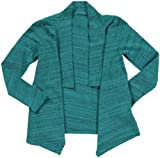LAmade Kids Little Girls Shawl (Toddler/Kid) - Bermuda
