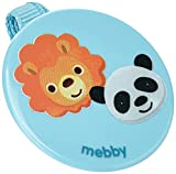 92561 Mebby Chupete clip, dibujo animales, azul