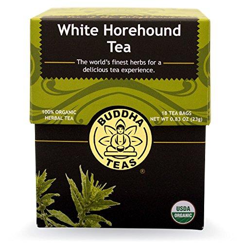 White Horehound Tea - Organic Herbs - 18 Bleach Free Tea Bags