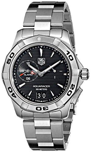 TAG Heuer Men's WAP111Z.BA0831 Aquaracer Black Dial Watch