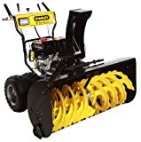 STANLEY 45-Inch Commercial 420cc Electric Start 2-Stage Gas Snow Blower, Bonus Drift Cutters and Clean-Out Tool