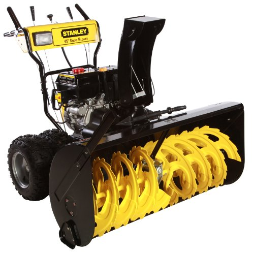 Stanley 15 HP Commercial Duty 2 Stage Gas Snow Blower with Electric Start, 45-Inch at Sears.com