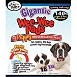 ☀ Four Paws Wee-Wee Pads, Gigantic, 18-Pack ☀