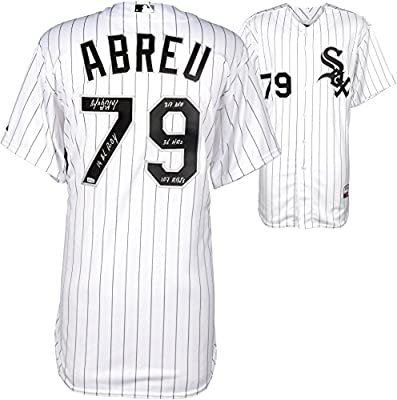 Jose Abreu Chicago White Sox Autographed On-Field Authentic Jersey with Multiple Inscriptions - #2-13 of a Limited Edition of 14 - Fanatics Authentic Certified