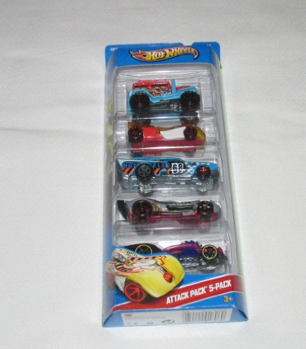 Hot Wheels HW Imagination Attack Pack-5 Pack - 1