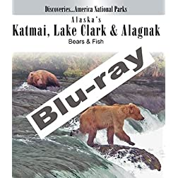 Discoveries...America National Parks: Alaska's Katmai, Lake Clark & Alagnak, Bears & Fish [Blu-ray]