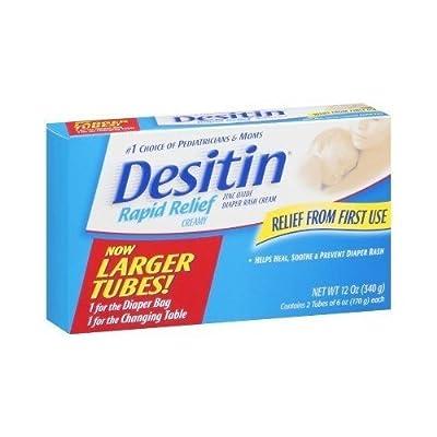 Desitin Creamy Diaper Rash Cream- 6 oz - 2 Pk by USA that we recomend personally.