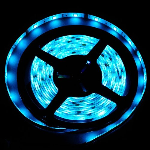 Theluckleds 16.4Ft 5050 Smd Double Double Density Rgb Color Changing Led Flexible Lighting Strip With 3M Tape