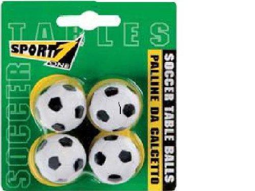 sport one 502212 blister 4 palline per biliardino