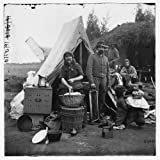 Washington, District of Columbia. Tent life of the 31st Penn. Inf. later, 82d Penn. Inf. at Queen's farm, vicinity of Fort Slocum poster print of an authentic Civil War photograph