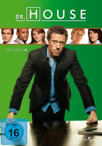 Dr. House - Season 4 [4 DVDs]